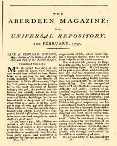 Aberdeen Magazine Or Universal Repository, February 01, 1797, Page 1