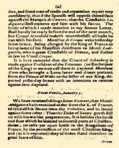 Abstract of Some Special Foreign Occurences, January 27, 1825, Page 5