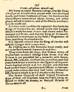 Abstract Of Some Special Foreign Occurences, April 14, 1825, Page 31