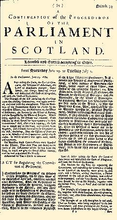 Account of the Meeting of the Estates in Scotland
