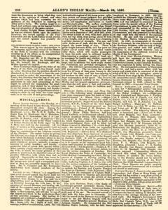 Allens Indian Mail, March 26, 1866, Page 18