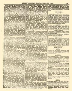 Allens Indian Mail, March 26, 1866, Page 19
