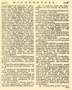 Annual Register, January 01, 1783, Page 110