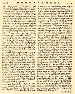 Annual Register, January 01, 1785, Page 160