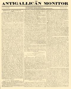 Anti Gallican Monitor, August 06, 1815, Page 1