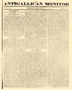 Anti Gallican Monitor newspaper archives