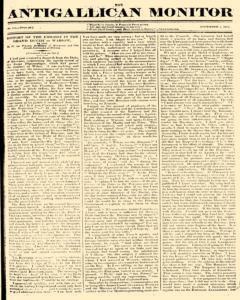 Anti Gallican Monitor, November 05, 1815, Page 1