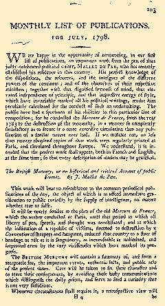Anti Jacobin Review And Magazine, July 01, 1798, Page 113