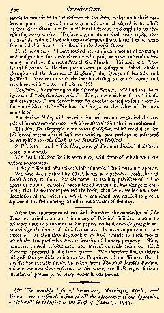 Anti Jacobin Review And Magazine, October 01, 1798, Page 120