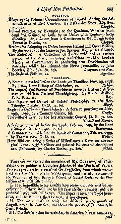 Anti Jacobin Review And Magazine, March 01, 1799, Page 347