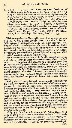Anti Jacobin Review And Magazine, May 01, 1799, Page 50