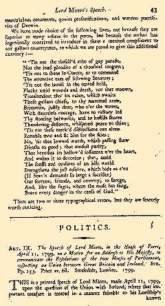 Anti Jacobin Review And Magazine, May 01, 1799, Page 43