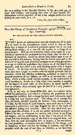 Anti Jacobin Review And Magazine, May 01, 1799, Page 87