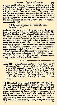 Anti Jacobin Review And Magazine, July 01, 1799, Page 143