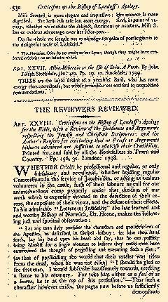 Anti Jacobin Review And Magazine, November 01, 1799, Page 83