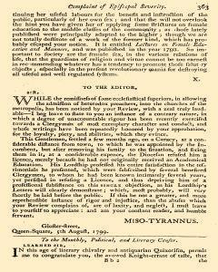 Anti Jacobin Review And Magazine, November 01, 1799, Page 116