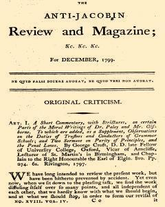 Anti Jacobin Review And Magazine, December 01, 1799, Page 1