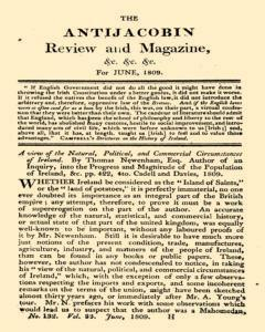 Anti Jacobin Review And Magazine, June 01, 1809, Page 1