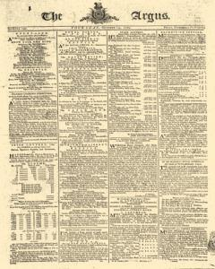 Argus London Middlesex, October 15, 1789, Page 1