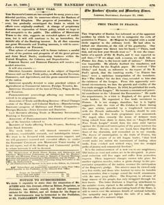 Bankers Circular, January 21, 1860, Page 3