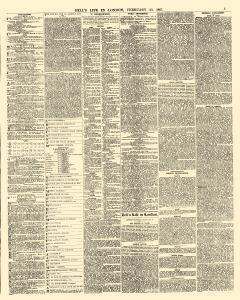 Bells Life In London And Sporting Chronicle, February 23, 1867, Page 3