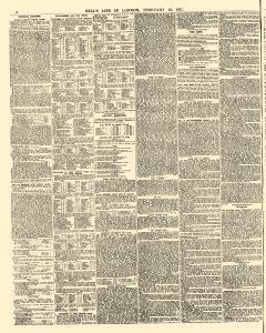 Bells Life In London And Sporting Chronicle, February 23, 1867, Page 6