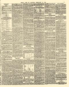 Bells Life In London And Sporting Chronicle, February 23, 1867, Page 7