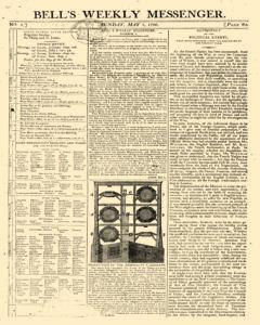 Bells Weekly Messenger, May 01, 1796, Page 1