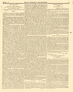 Bells Weekly Messenger, May 01, 1796, Page 3
