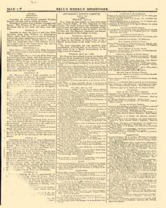 Bells Weekly Messenger, May 01, 1796, Page 7