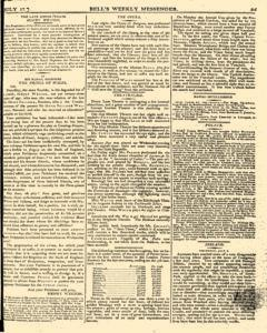 Bells Weekly Messenger, July 17, 1796, Page 7