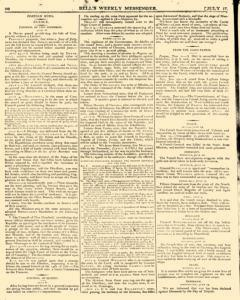 Bells Weekly Messenger, July 17, 1796, Page 10
