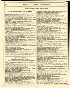Bents Monthly Literary Advertiser, January 11, 1843, Page 30