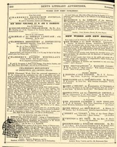 Bents Monthly Literary Advertiser, November 11, 1853, Page 2
