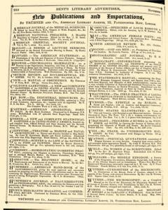 Bents Monthly Literary Advertiser, November 11, 1853, Page 4