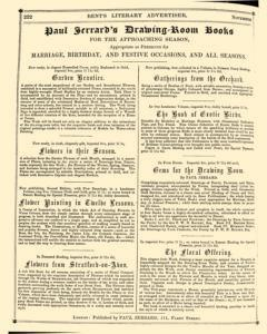 Bents Monthly Literary Advertiser, November 11, 1853, Page 8