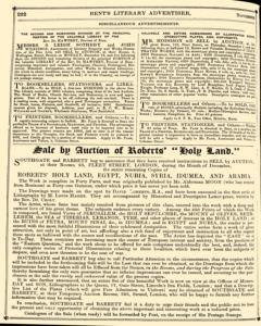 Bents Monthly Literary Advertiser, November 11, 1853, Page 18