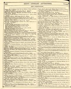 Bents Monthly Literary Advertiser, November 11, 1853, Page 22