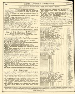 Bents Monthly Literary Advertiser, November 11, 1853, Page 24