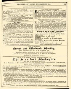 Bents Monthly Literary Advertiser, November 11, 1853, Page 17
