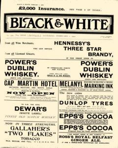Black and White, February 01, 1902, Page 1