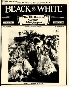 Black And White, January 18, 1908, Page 1