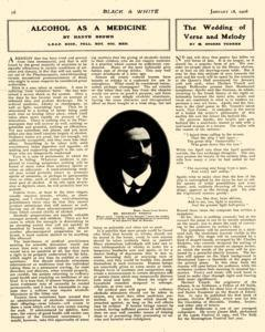Black And White, January 18, 1908, Page 14