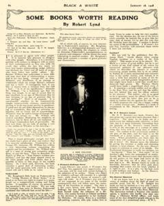 Black And White, January 18, 1908, Page 19