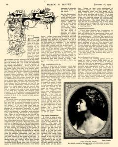 Black And White, January 18, 1908, Page 25