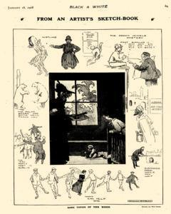 Black And White, January 18, 1908, Page 7