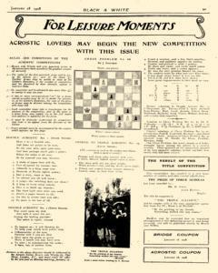 Black And White, January 18, 1908, Page 37