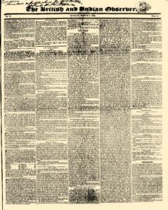British And Indian Observer, March 07, 1824, Page 1