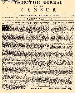 British Journal, December 21, 1728, Page 1
