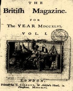 British Magazine, January 01, 1746, Page 1